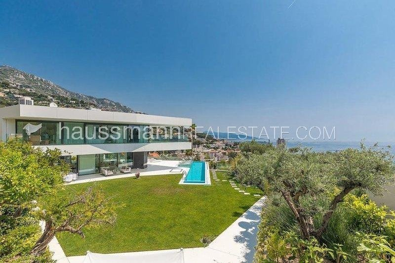 beautiful sea view modern property at 2 steps from monaco