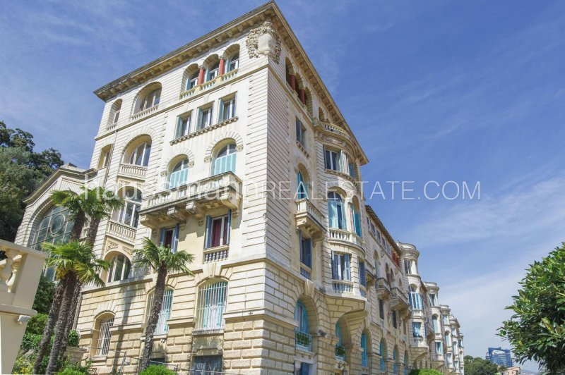 iconic palace - with sea and monaco views