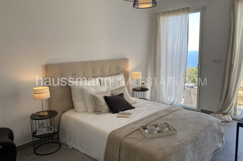 in a new sea view residence with pool, brand new apartment of 70 sq. meters