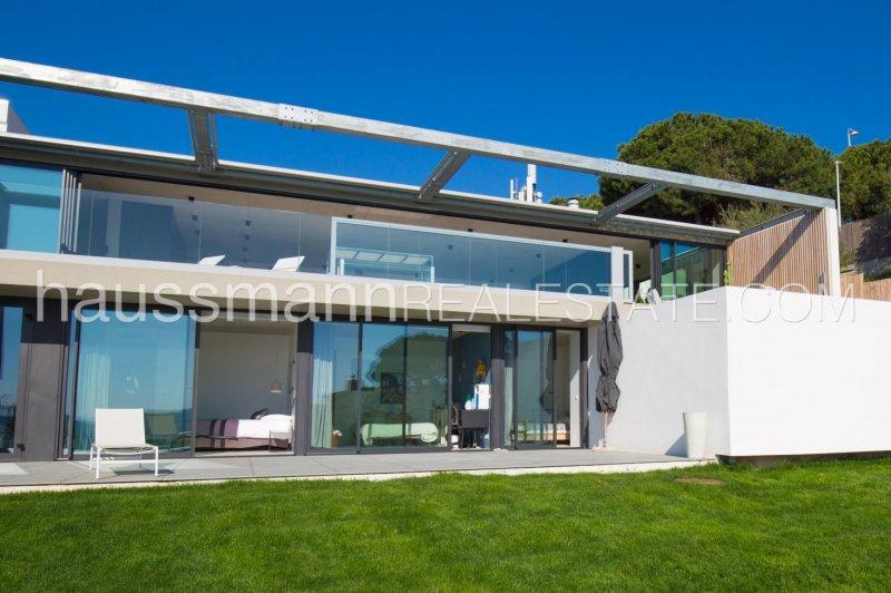 modern property facing the mediterranean