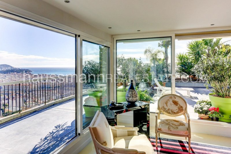 panoramic sea view penthouse with modern amenities