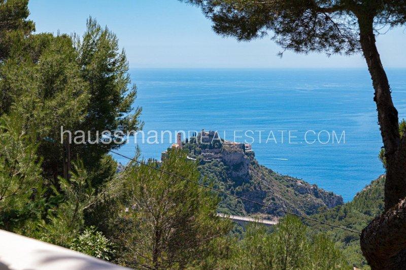 provencal property with panoramic sea view near monaco