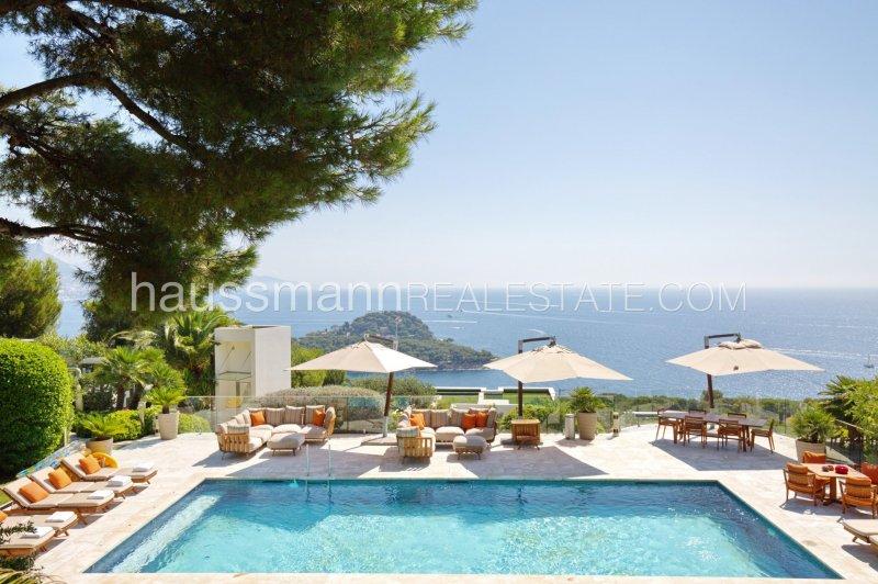 saint jean cap ferrat - luxurious modern villa