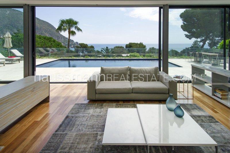 sea view modern villa