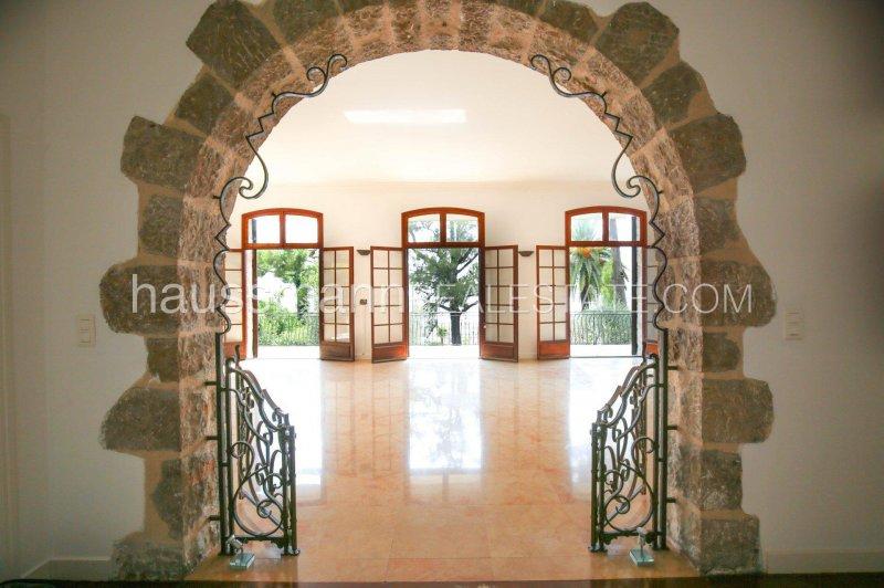 spacious apartment in stone house